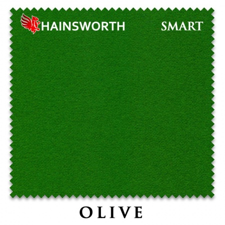 "Сукно ""Hainsworth Smart Snooker"" 195см.Olive"