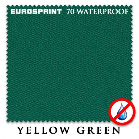 "Сукно ""EuroSprint"" 70 Waterproof 198см.Yellow green"