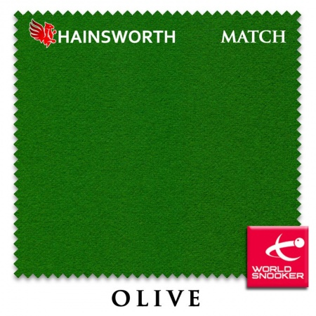"Сукно ""Hainsworth Match Snooker"" 195см.Olive"