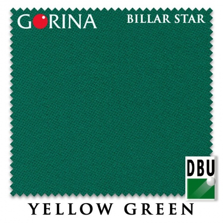 "Сукно Gorina ""Billar Star"" 197 см.Yellow Green"