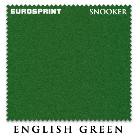 "Сукно ""EuroSprint"" Snooker 198 см. English green"