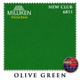 "Сукно ""Milliken Strachan Snooker"" 6811 New Club 196 см.Olive Green"