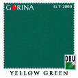 "Сукно Gorina ""Granito GT 2000"" 197 см.Yellow Green"