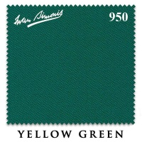 "Сукно ""Iwan Simonis"" 950 195 см.Yellow green"
