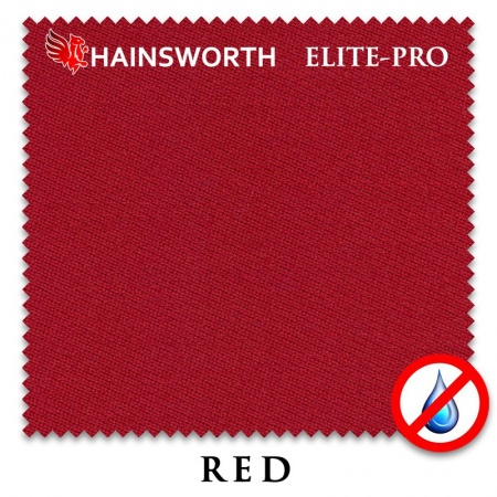 "Сукно ""Hainsworth Elite Pro Waterproof"" 198см.Red"