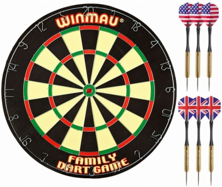 "Комплект для игры в Дартс ""Winmau Family Dart Game"""