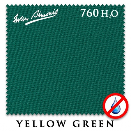"Сукно ""Iwan Simonis H2O"" 760 195 см.Yellow green"