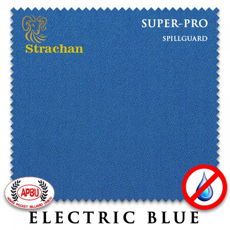 "Сукно ""Milliken Strachan Superpro Spillguard "" 198 см.Electric blue"