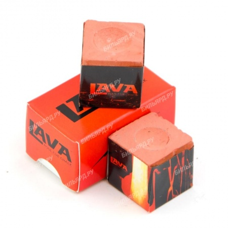 "Мел ""Lava"" red 2шт."