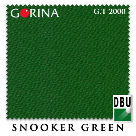 "Сукно Gorina ""Granito GT 2000"" 197 см.Snooker Green"