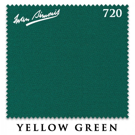 "Сукно ""Iwan Simonis"" 720 195 см.Yellow green"