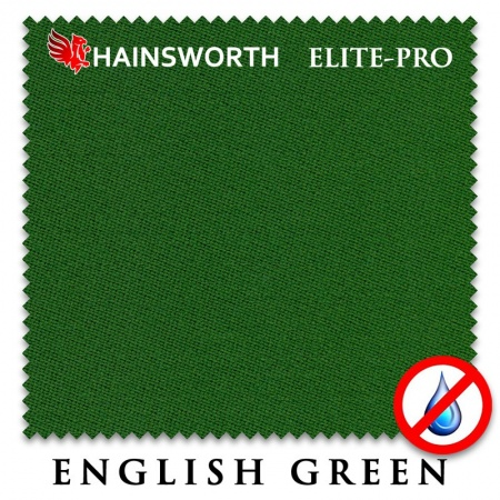 "Сукно ""Hainsworth Elite Pro Waterproof"" 198см.English green"