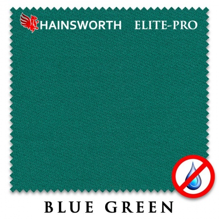 "Сукно ""Hainsworth Elite Pro Waterproof"" 198см.Blue green"