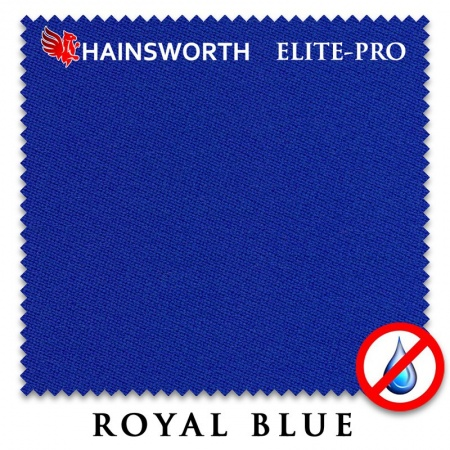 "Сукно ""Hainsworth Elite Pro Waterproof"" 198см.Royal blue"
