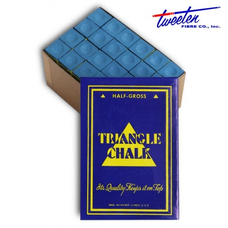 "Мел ""Triangle"" blue 72 шт."