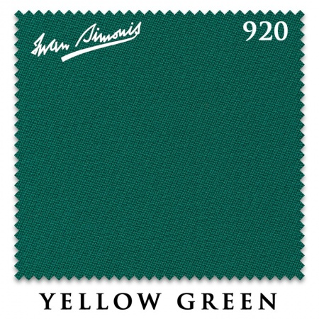 "Сукно ""Iwan Simonis"" 920 195 см.Yellow green"