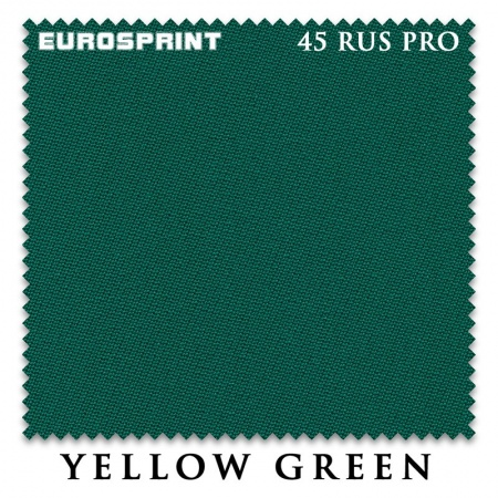 "Сукно ""EuroSprint"" 45 Rus Pro 198 см.Yellow green"