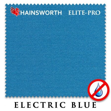 "Сукно ""Hainsworth Elite Pro Waterproof"" 198см.Electric blue"